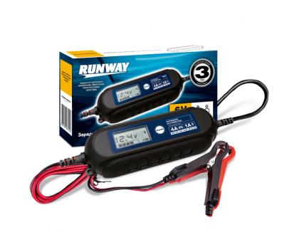 Зарядное устройство для АКБ Smart car charger (6/12В; ток 1А/4А)