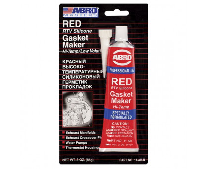 Герметик прокладок (красный) 85 г - ABRO 11-AB-CH
