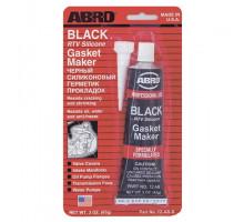 Герметик прокладок силиконовый (черный) 85 г - ABRO