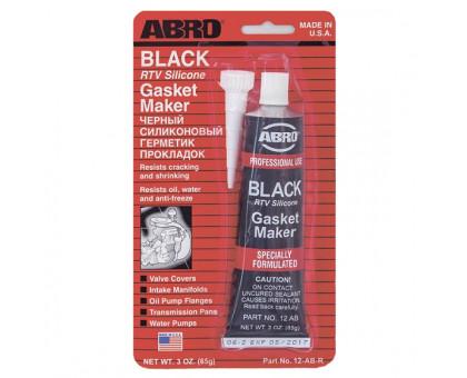 Герметик прокладок (черный) 85 г - ABRO 12-AB