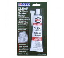 Герметик прокладок силиконовый (прозрачный) 85 г - ABRO