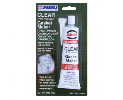 Герметик прокладок (прозрачный) 85 г - ABRO 13-AB-CH