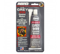 Герметик прокладок силиконовый (серый) 85 г - ABRO 999