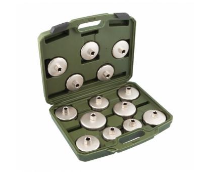 Съемники для масляных фильтров (чашка), набор 14 предметов
